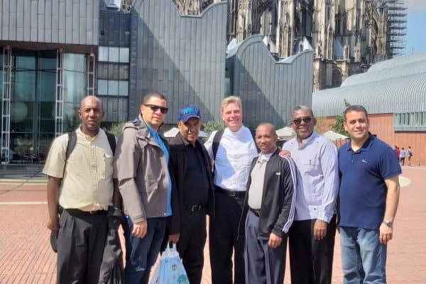 Ewigtertiatskurs aus der Dominikanischen Republik in Köln, Foto privat 2019