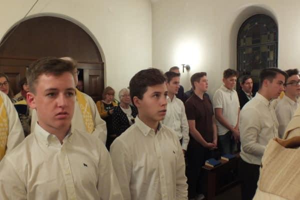 Kontraktfeier im Moriah-Heiligtum, Foto Bühler