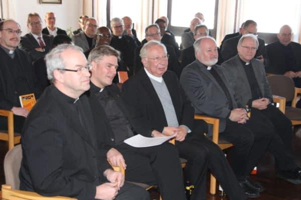 Mitbrüder des Schönstatt-Priesterverbandes bei einer Tagung auf Berg Moriah, Foto privat 2017