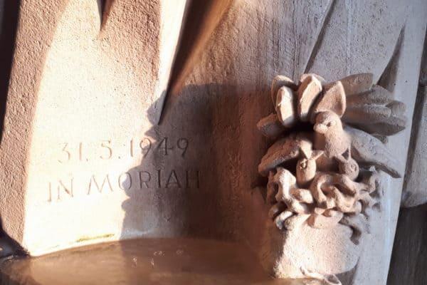 Moriahbrunnen, Detaill, Foto Löhr