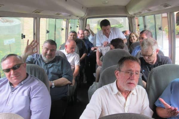 nachmittägliche Fahrt ins Zentrum von Guyaquil beim Treffen der Regio Nuevo Belen, Foto Löhr 2019